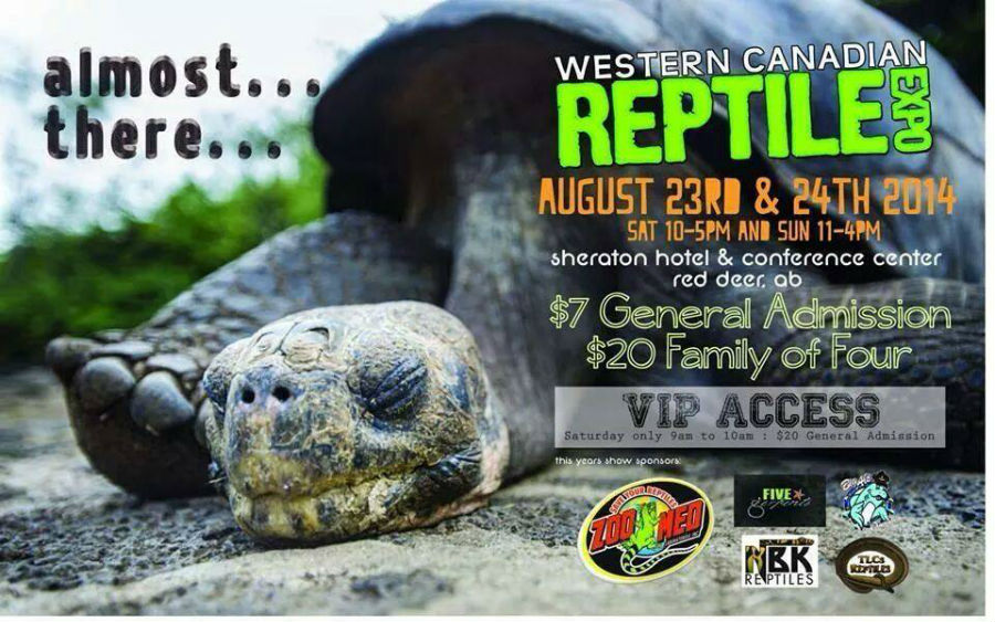 2014 Western Canadian Reptile Expo