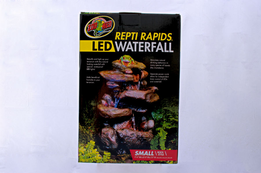 Repti Rapids Led Waterfall Small Rock Jungle Jewel Exotics