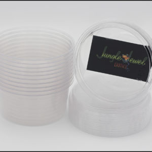 12oz Ultra Clear Compostable Deli Cups With Lids (Not Vented)