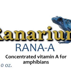 Ranarium Rana-A 2oz – Vitamin A Supplement for Dart Frogs