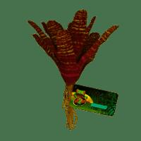Artificial Plastic Fake Bromeliad Plant for a Terrarium or Vivarium