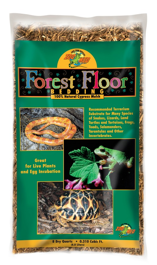 Zoo Med Forest Floor Reptile Bedding – Cypress Mulch
