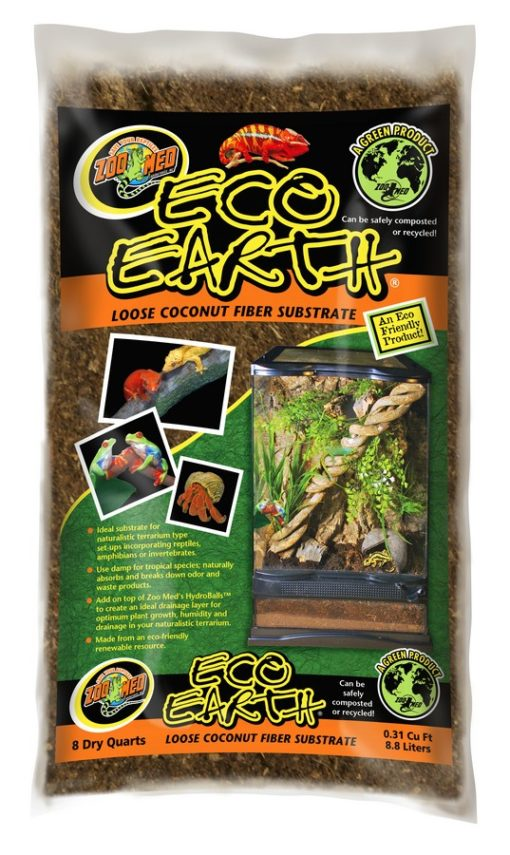 Zoo Med Eco Earth Coconut Fiber Substrate Loose Fill Bags